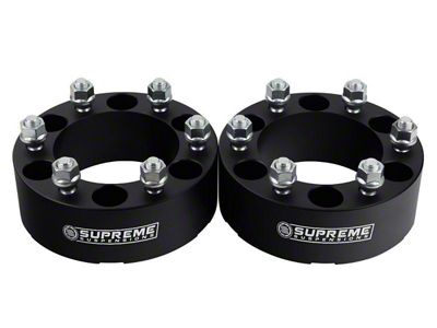 Supreme Suspensions 1.5 in. Pro Billet Wheel Spacers - Set of Two (99-19 Silverado 1500)