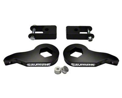 Supreme Suspensions 1-3 in. Front Max Torsion Key Lift Kit w/ Shock Extenders (99-06 4WD Silverado 1500)