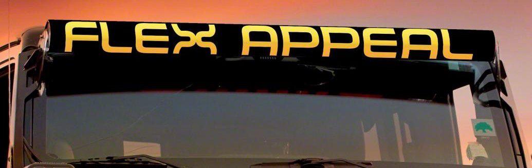 AeroX 52 in. LED Light Bar Cover Insert - Flex Appeal