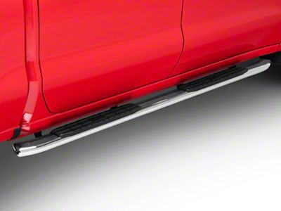 Duratrek PNC Side Step Bars - Stainless Steel (2019 Silverado 1500 Crew Cab)