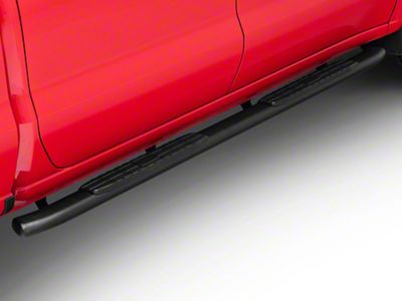 Duratrek PNC Side Step Bars - Textured Black (2019 Silverado 1500 Crew Cab)