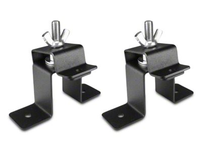 Leitner Designs Bed Rack Hi-Lift Jack Brackets (07-18 Sierra 1500)