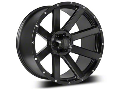 Havok Off-Road H107 Matte Black 6-Lug Wheel - 20x9 (07-18 Sierra 1500)