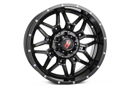 Havok Off-Road H109 Matte Black 6-Lug Wheel - 20x9 (07-18 Sierra 1500)