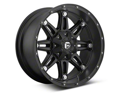 Fuel Wheels Hostage Matte Black 6-Lug Wheel - 17x8.5 (07-18 Sierra 1500)