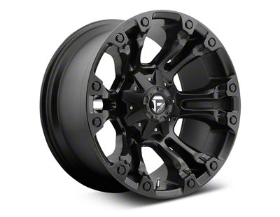 Fuel Wheels Vapor Matte Black 6-Lug Wheel - 20x9 (07-18 Sierra 1500)
