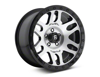 Fuel Wheels Recoil Brushed w/ Black Ring 6-Lug Wheel - 18x9 (07-18 Sierra 1500)