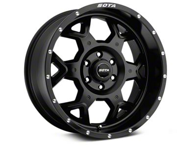 SOTA Off Road SKUL Stealth Black 6-Lug Wheel - 20x9 (07-18 Sierra 1500)