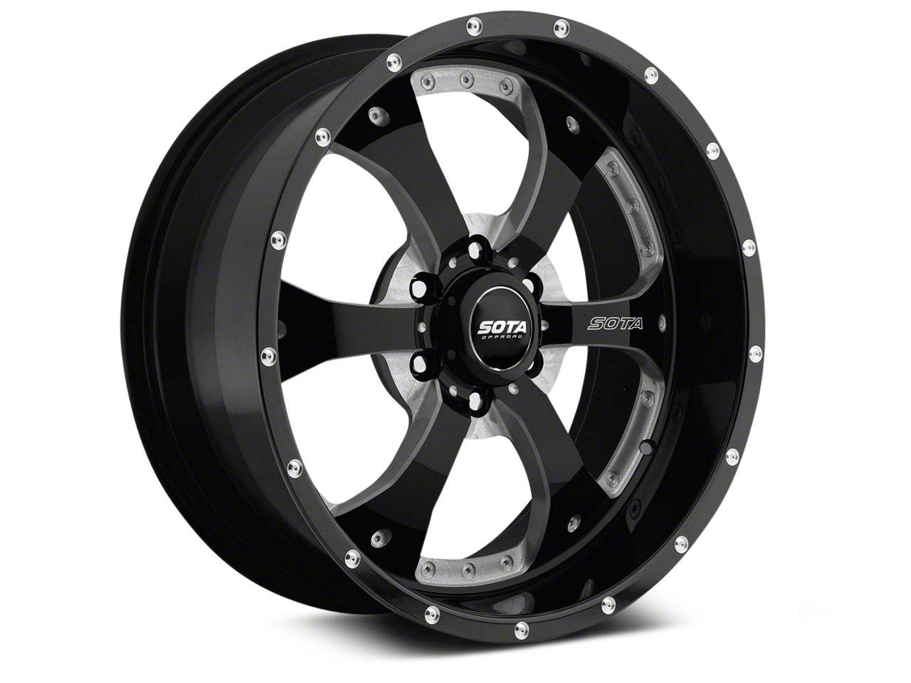 SOTA Off Road NOVAKANE Death Metal 6-Lug Wheel - 22x9.5 (07-18 Sierra 1500)