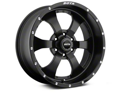 SOTA Off Road NOVAKANE Stealth Black 6-Lug Wheel - 18x9 (07-18 Sierra 1500)
