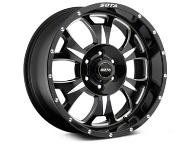 SOTA Off Road M-80 Death Metal 6-Lug Wheel - 20x9 (07-18 Sierra 1500)