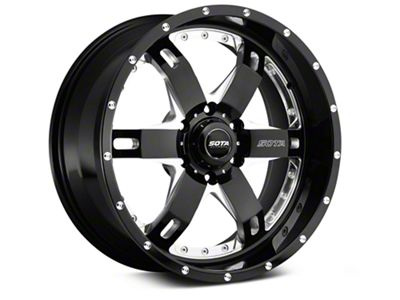 SOTA Off Road REPR Death Metal 6-Lug Wheel - 20x9 (07-18 Sierra 1500)