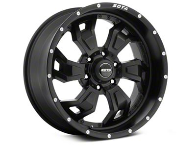 SOTA Off Road SCAR Stealth Black 6-Lug Wheel - 20x9 (07-18 Sierra 1500)