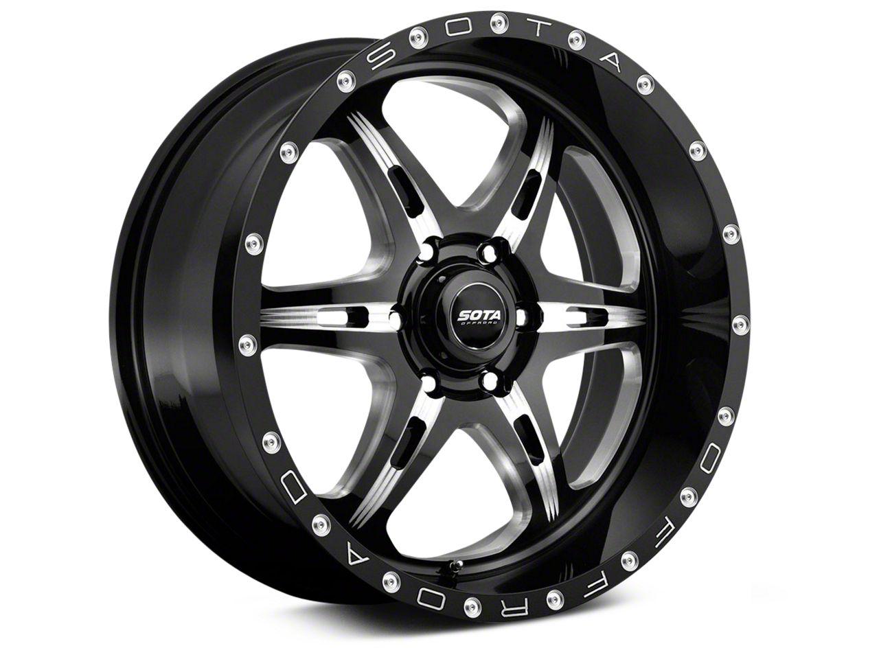 SOTA Off Road F.I.T.E. Detal Metal 6-Lug Wheel - 20x9 (07-18 Sierra 1500)
