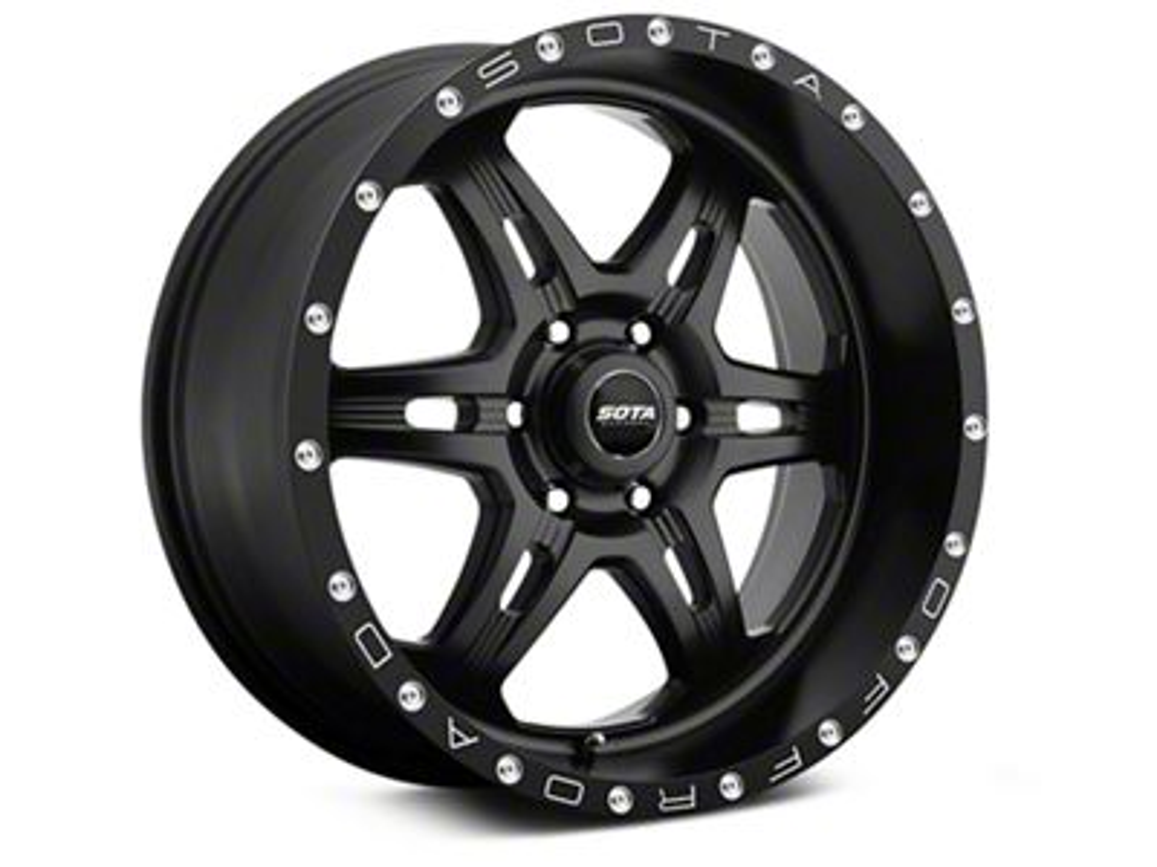SOTA Off Road FITE Stealth Black 6-Lug Wheel - 20x9 (07-18 Sierra 1500)