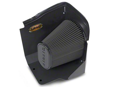 Airaid QuickFit Air Dam w/ Black SynthaMax Dry Filter (2009 6.0L Sierra 1500, Excluding Hybrid)
