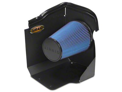 Airaid QuickFit Air Dam w/ Blue SynthaMax Dry Filter (2009 6.0L Sierra 1500, Excluding Hybrid)