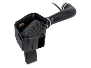 Airaid MXP Series Cold Air Intake w/ Black SynthaMax Dry Filter (09-10 6.0L Hybrid Sierra 1500 w/ Electric Cooling Fan)