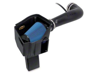 Airaid MXP Series Cold Air Intake w/ Blue SynthaMax Dry Filter (09-10 6.0L Hybrid Sierra 1500 w/ Electric Cooling Fan)