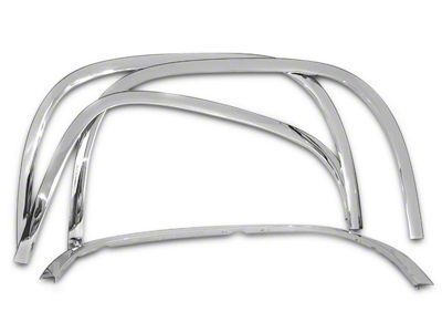 Stainless Steel Fender Trim - Chrome (07-13 Sierra 1500)