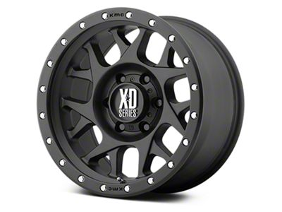 XD Bully Satin Black 6-Lug Wheel - 20x9 (07-18 Sierra 1500)