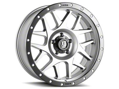 XD Bully Matte Gray w/ Black Ring 6-Lug Wheel - 17x8.5 (07-18 Sierra 1500)