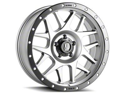 XD Bully Matte Gray w/ Black Ring 6-Lug Wheel - 17x9 (07-18 Sierra 1500)