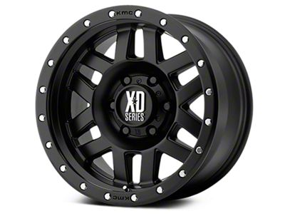 XD Machete Satin Black 6-Lug Wheel - 20x9 (07-18 Sierra 1500)