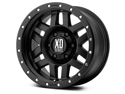 XD Machete Satin Black 6-Lug Wheel - 18x9 (07-18 Sierra 1500)