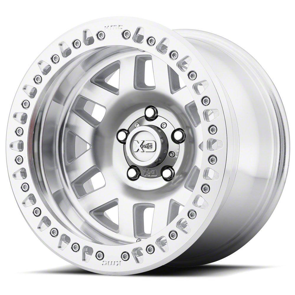 XD Machete Crawl Machined 6-Lug Wheel - 17x9 (07-18 Sierra 1500)
