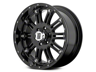 XD Hoss Gloss Black 6-Lug Wheel - 17x9 (07-18 Sierra 1500)