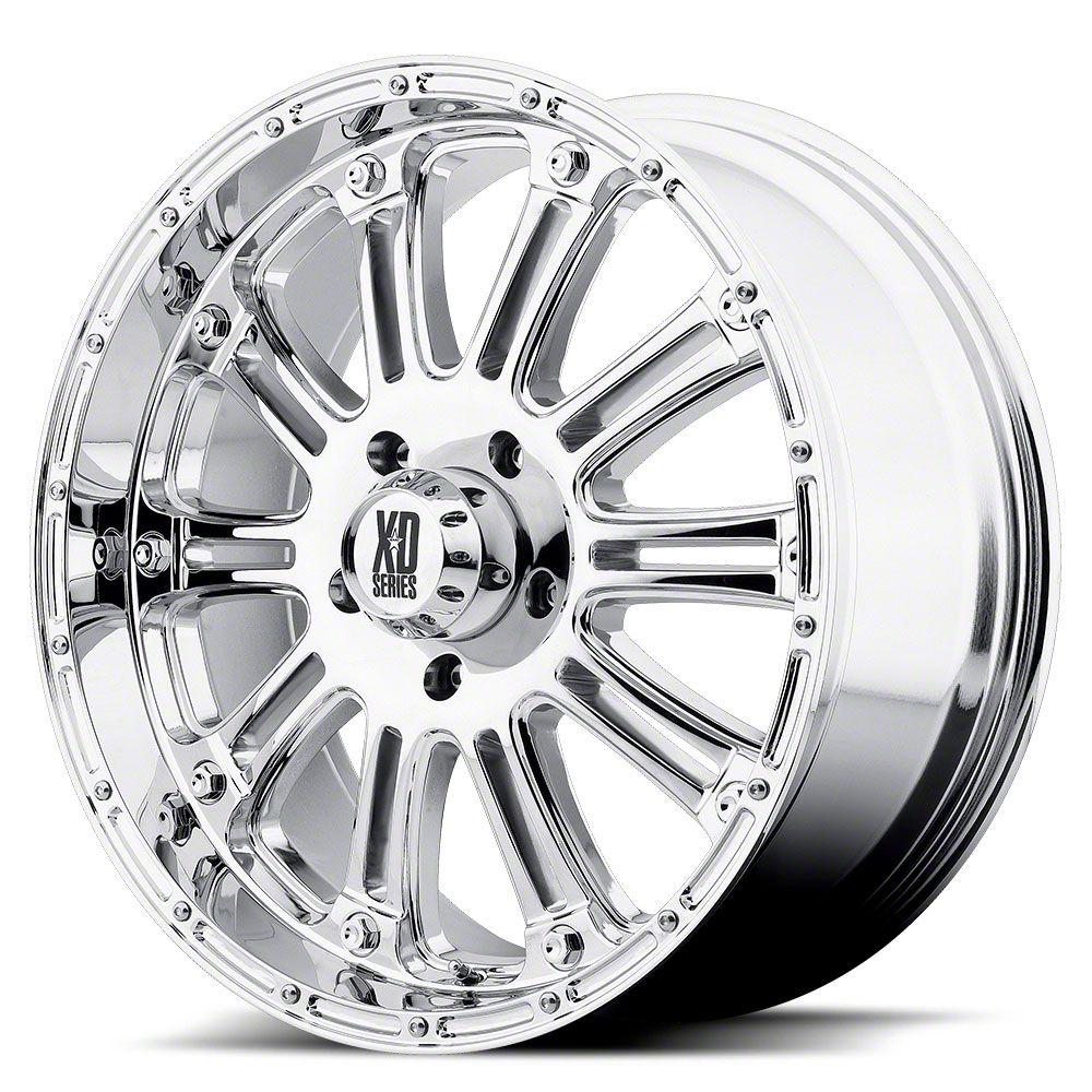 XD Hoss Chrome 6-Lug Wheel - 18x9 (07-18 Sierra 1500)