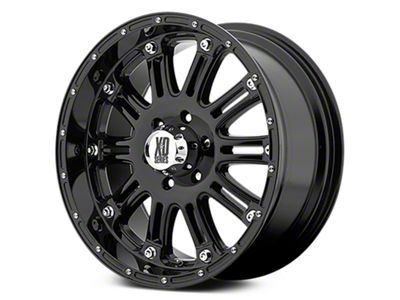 XD Hoss Gloss Black 6-Lug Wheel - 18x9 (07-18 Sierra 1500)