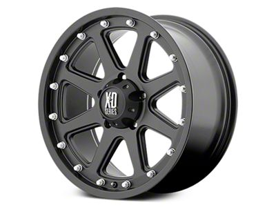 XD Addict Matte Black 6-Lug Wheel - 17x9 (07-18 Sierra 1500)