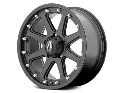XD Addict Matte Black 6-Lug Wheel - 18x9 (07-18 Sierra 1500)