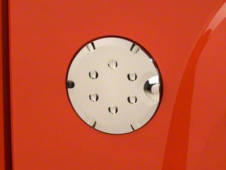 Fuel Tank Door Cover - Chrome (07-13 Sierra 1500)