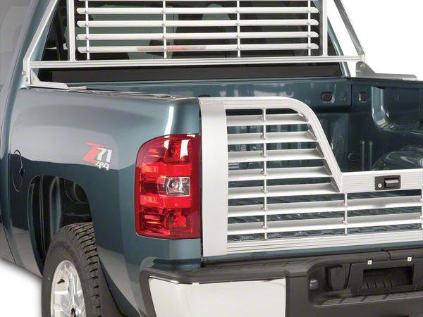 Husky Aluminum Contractor Rack - Silver (07-18 Sierra 1500)