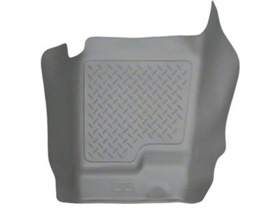 Husky WeatherBeater Center Hump Floor Liner - Gray (07-13 Sierra 1500 Extended Cab, Crew Cab)