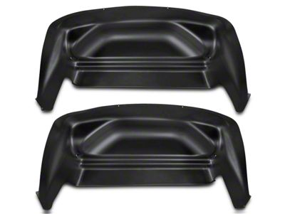 Husky Rear Wheel Well Guards - Black (07-13 Sierra 1500)