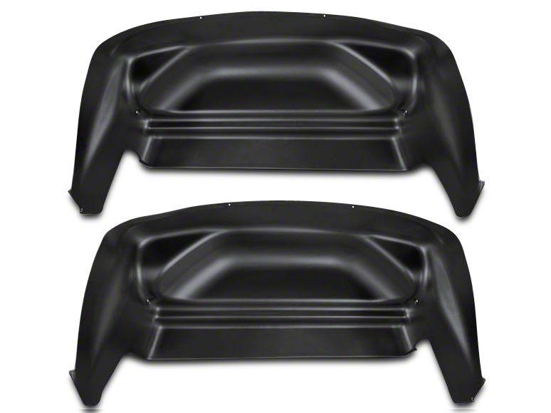 Husky Rear Wheel Well Guards - Black (07-13 Sierra 1500)