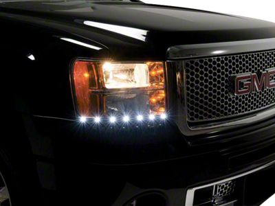 Putco LED Dayliner G2 Kit - Black (07-13 Sierra 1500)