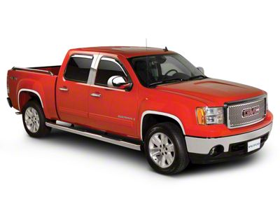 Stainless Steel Fender Trim (07-13 Sierra 1500, Excluding Denali)
