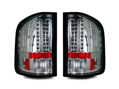 Recon LED Tail Lights - Clear Lens (07-13 Sierra 1500)