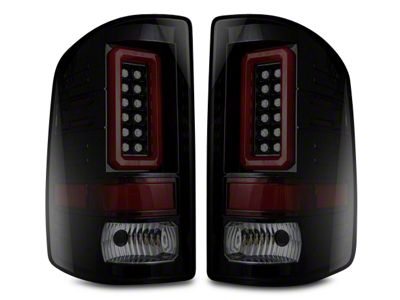 LED Tail Lights - Smoked Lens (14-18 Sierra 1500 w/o Factory LED Tail Lights)