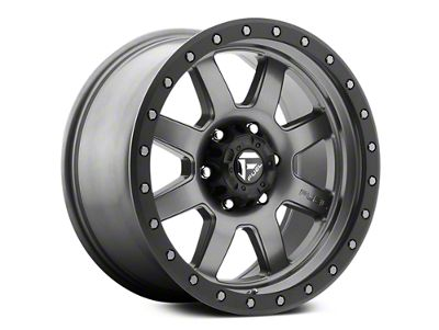 Fuel Wheels Trophy Anthracite w/ Black Ring 6-Lug Wheel - 18x9 (07-18 Sierra 1500)