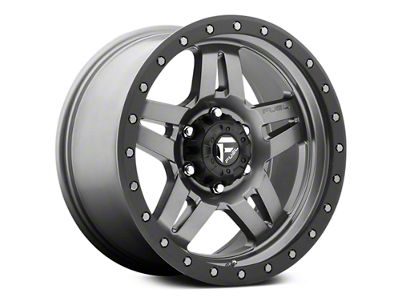 Fuel Wheels Anza Anthracite w/ Black Ring 6-Lug Wheel - 18x9 (07-18 Sierra 1500)