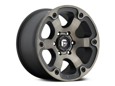 Fuel Wheels Beast Black Machined w/ Dark Tint 6-Lug Wheel - 17x9 (07-19 Sierra 1500)