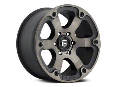 Fuel Wheels Beast Black Machined w/ Dark Tint 6-Lug Wheel - 18x9 (07-18 Sierra 1500)