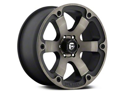 Fuel Wheels Beast Black Machined w/ Dark Tint 6-Lug Wheel - 20x9 (07-19 Sierra 1500)