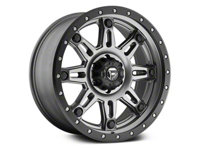 Fuel Wheels Hostage III Anthracite w/ Black Ring 6-Lug Wheel - 18x9 (07-18 Sierra 1500)